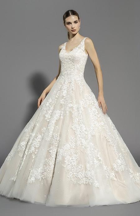 Robe de mariée princesse à Paris  A chacune son jupon