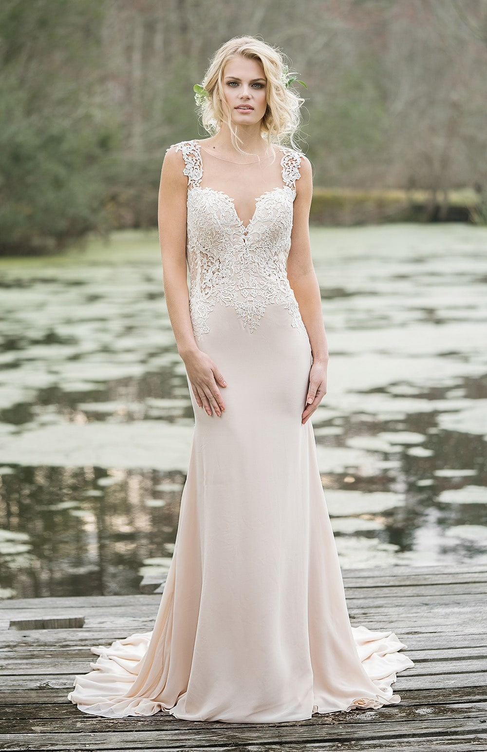 Robe de mariée Modèle Nicole – 6454