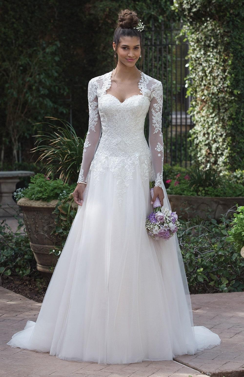 Robe de mariée Modèle Saran – 4019