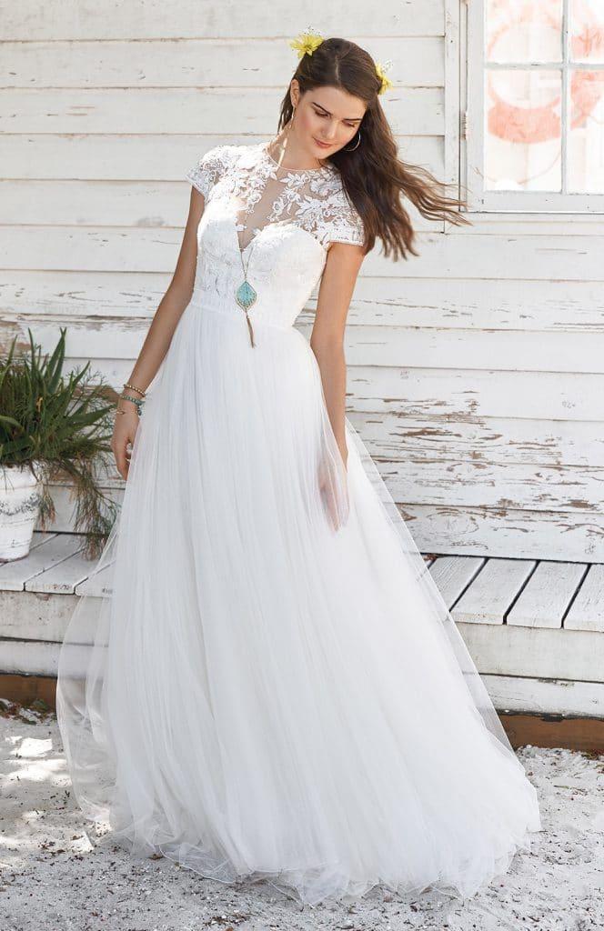 Prix robe de mariee lillian west