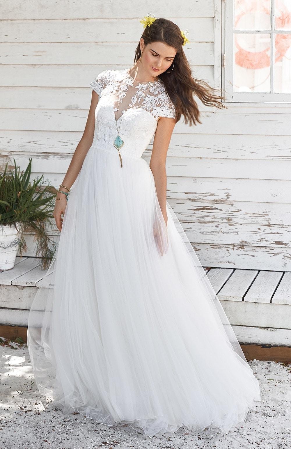 Robe de mariée Modèle Nicia – 66038