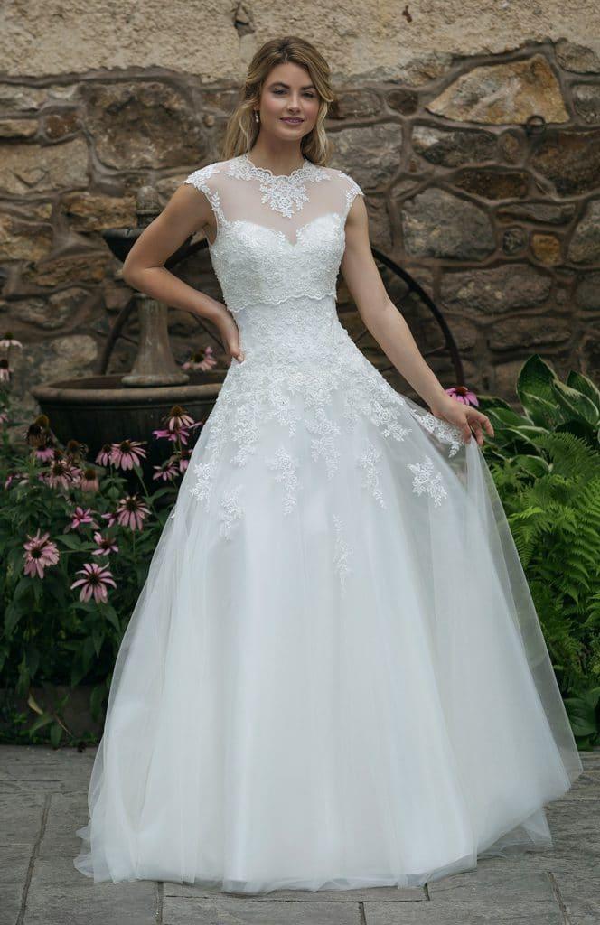 9805bee0cdb Robe de mariée Sincerity 2020