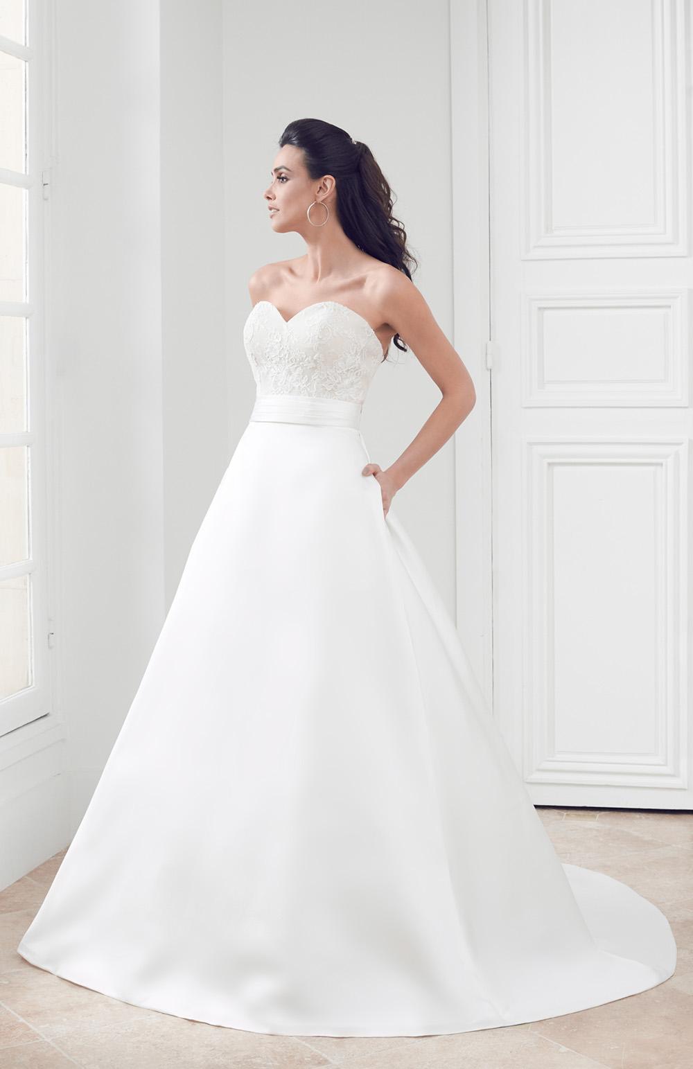 Robe de mariée Modèle Opale