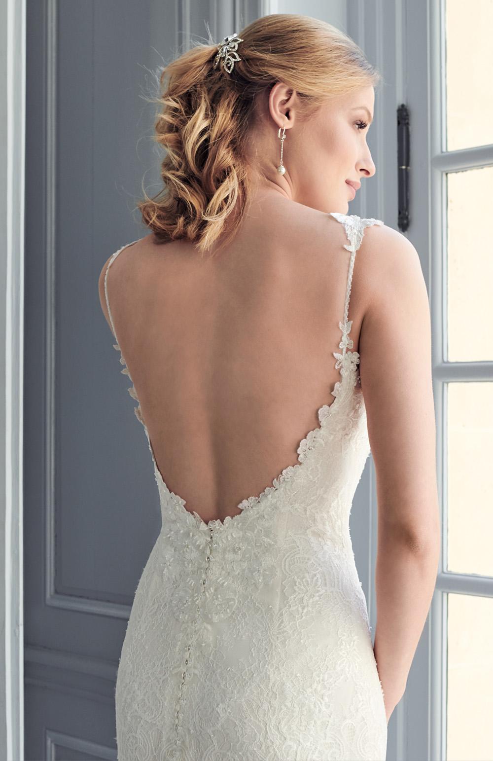Robe de mariée Modèle Angy   Couture Nuptiale Paris - Robes Rose Angel, Rose Angel