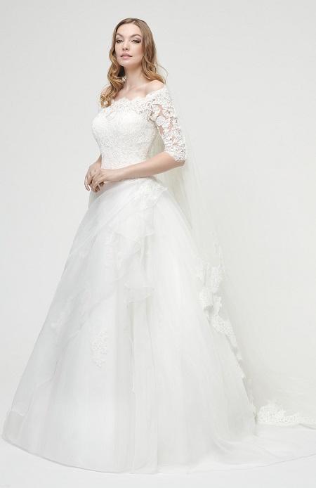 Robe de mariée en strass nuptiale de mariage