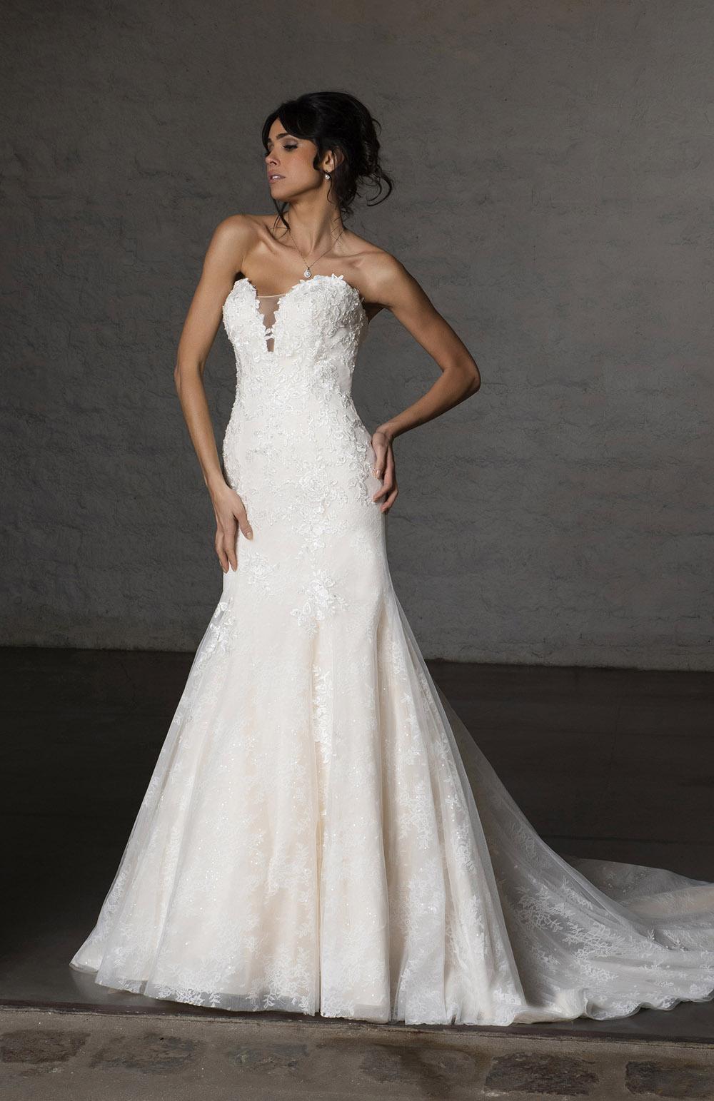 Robe de mariée Modèle Calyssa