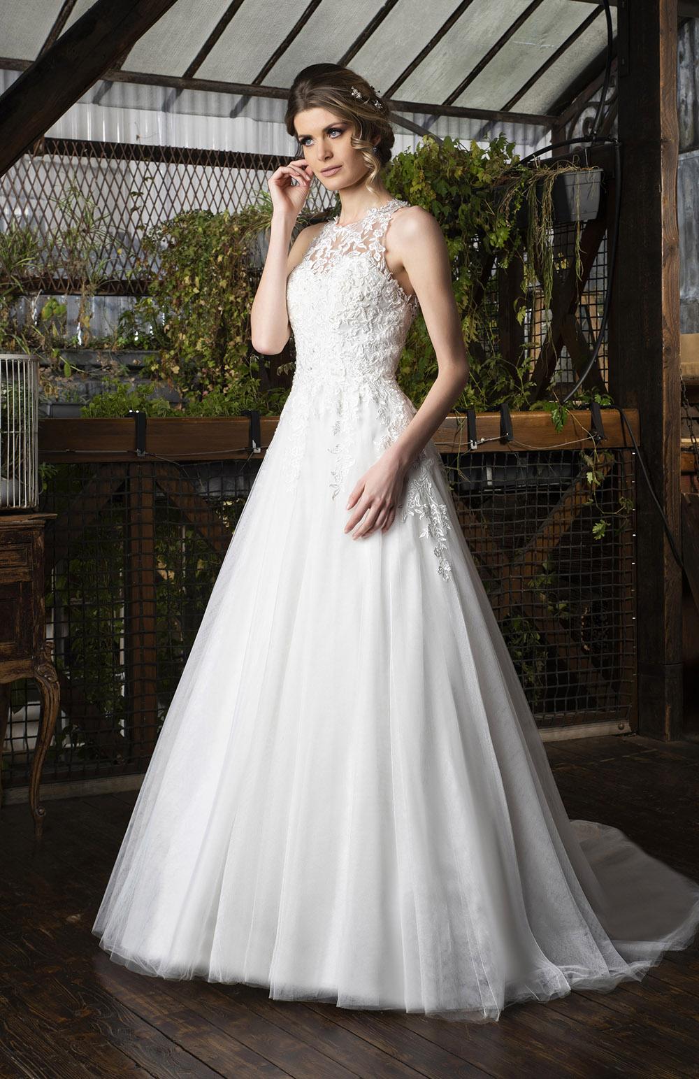 Robe de mariée Modèle Clarie
