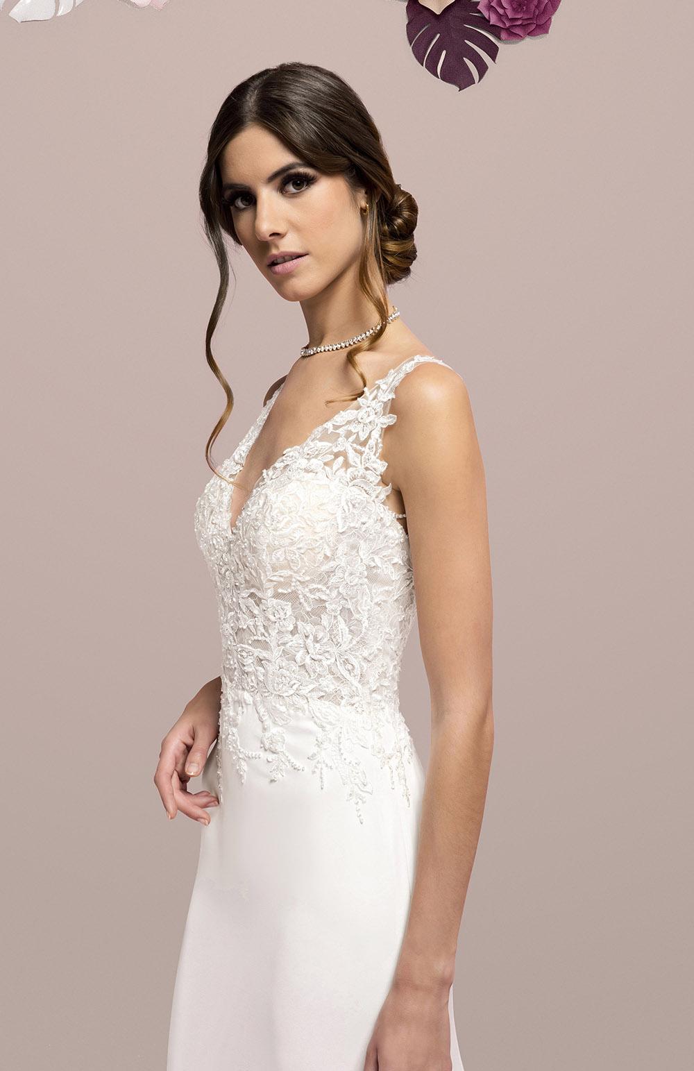 Robes de mariée style Mousseline & Dentelle