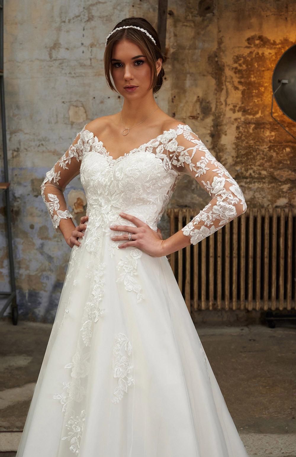 Robes de mariée style Tulle - Organza & Dentelle