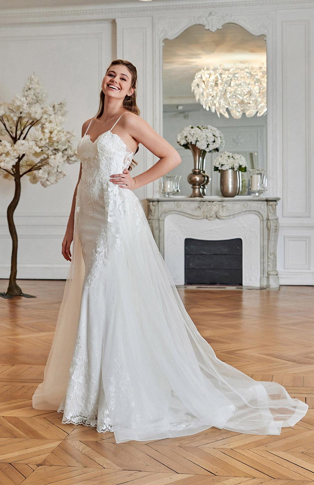 Robe de mariée Modèle Ecrin
