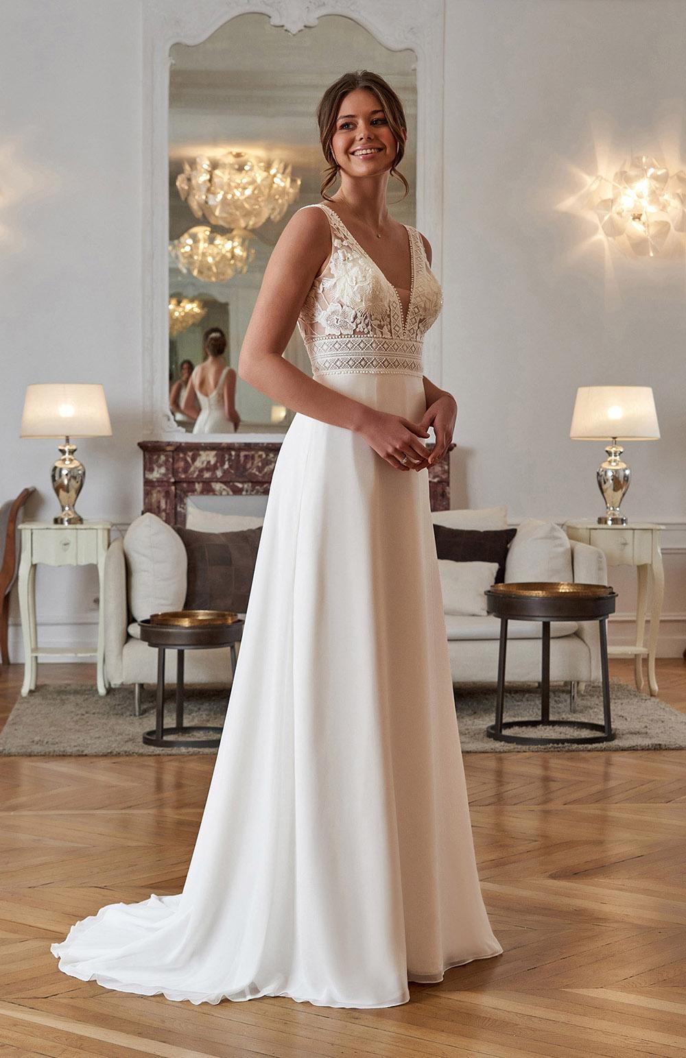 Robe de mariée Modèle Elauna